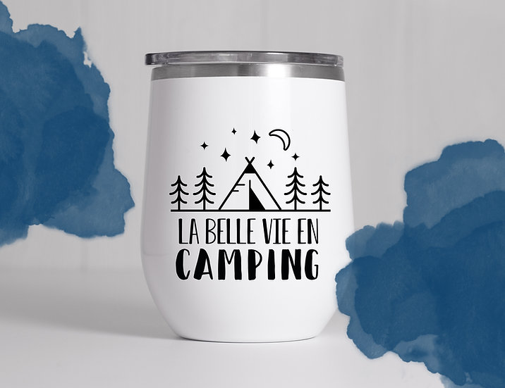 Décalque - La belle vie en camping