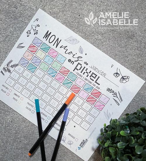 Mon mois en pixel