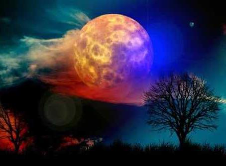 Taurus Full Moon - A Divine Spark