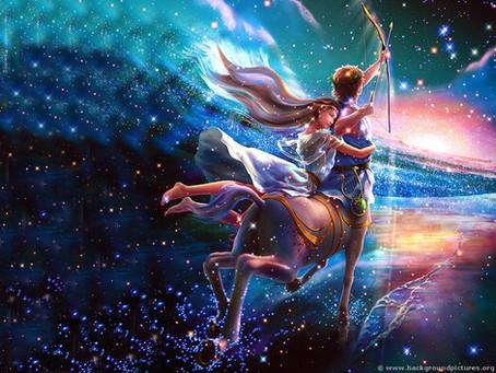Spiritual Integration & Release - Sagittarius Season Begins!