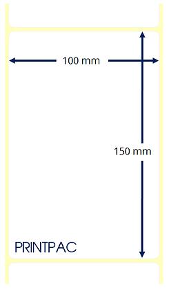 Etichette a trasferimento termico 100x150mm - Mandrino diametro 76mm
