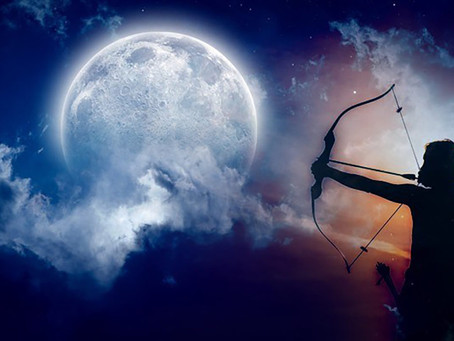 Full Moon in Sagittarius - The Blend, The Eclipse & The Arrow