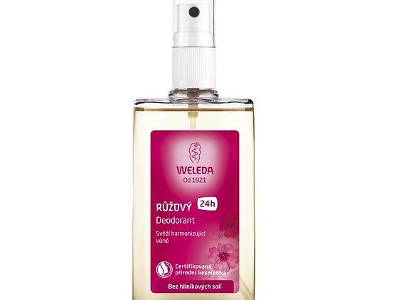 Růžový deodorant 100 ml