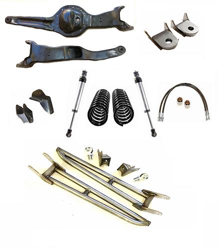 Complete D44  Front Suspension w/DIY C&T