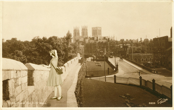 Armchair Traveller - York from the City Walls