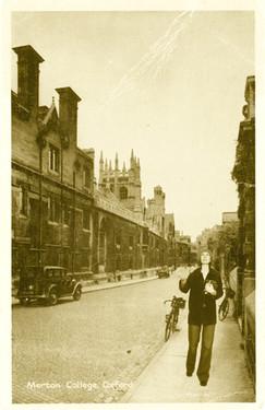 Armchair Traveller - Merton College, Oxford