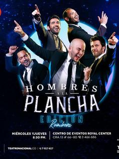 HOMBRES A LA PLANCHA - Teatro Nacional