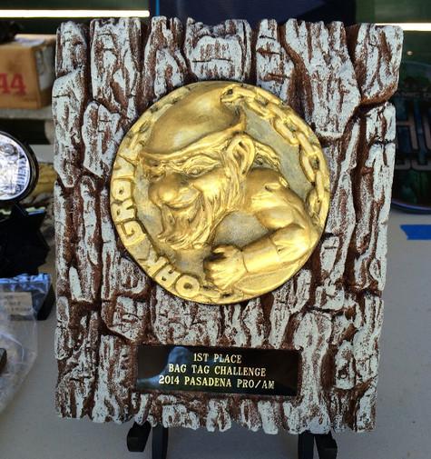 Disc Golf Trophy