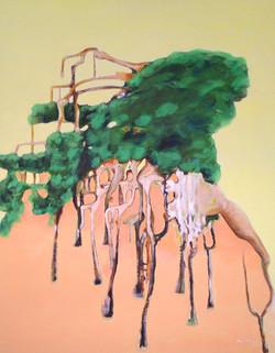 Im Gruenen Mattar Acryl Kunst Art