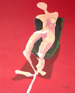 Ruhe Mattar Acryl Surreal Kunst Art