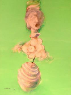 Im Kreis Mattar Kunst Acryl Art