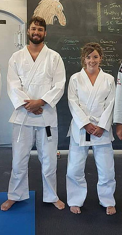 Dedicated married couple in BJJ