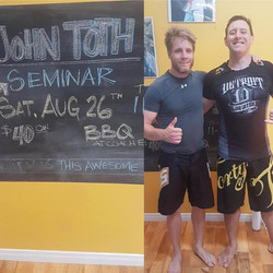 Great No-Gi seminar by John Toth