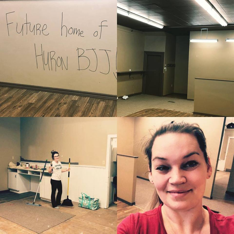 working on our new studio!