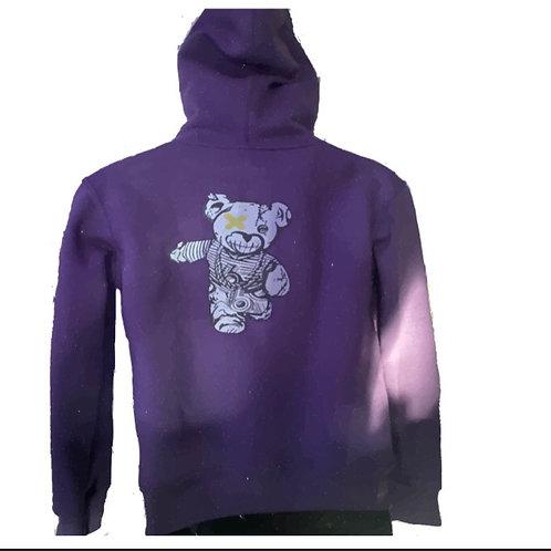 Womens Game 6 Bear hoodie