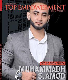 Muhammadh Shuayb Amod Magazine 2019 Awards
