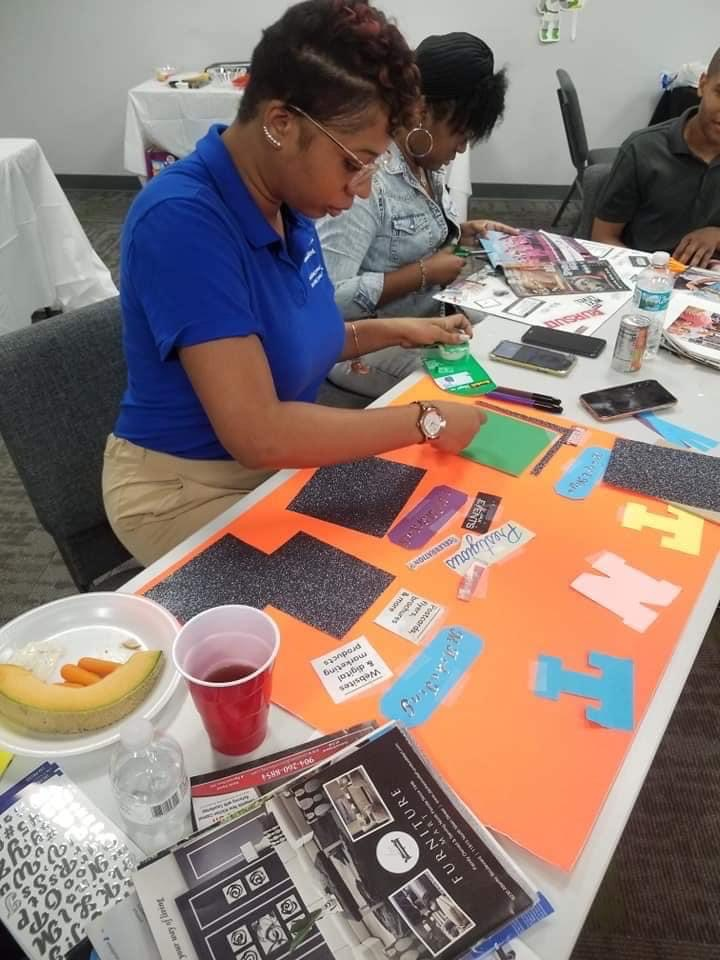 TKO at Community Vision Board Party