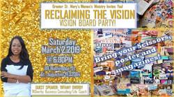 TKO at Community Vision Board Party