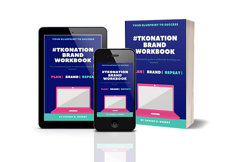 #TKONation Brand Workbook - Bonus Edition