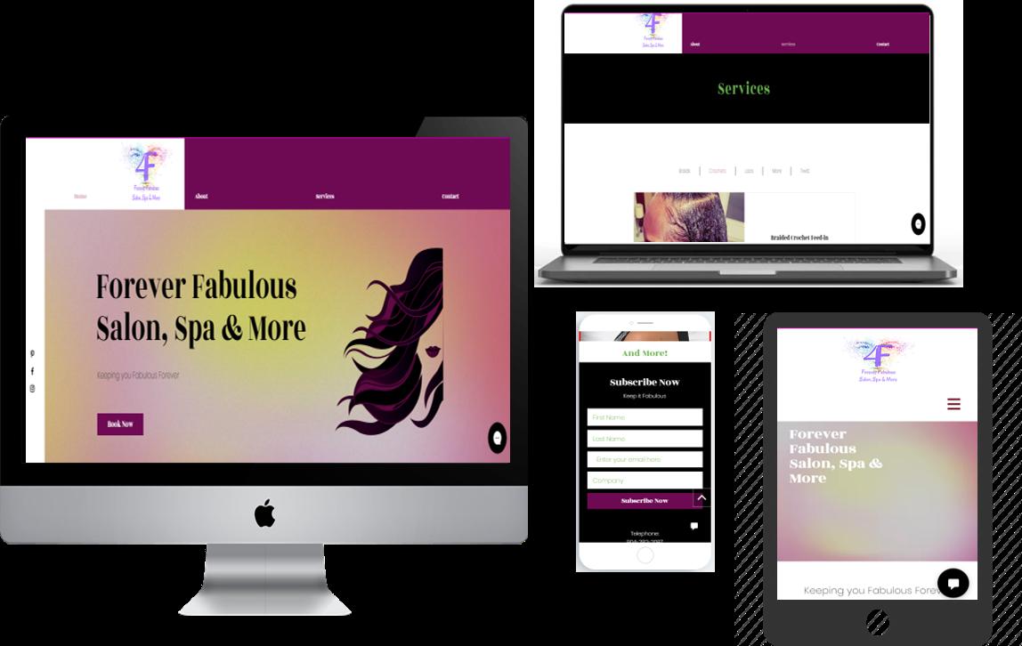 Web Design- Plus Package