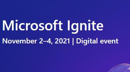 Vabilo na brezplačno konferenco Microsoft Ignite 2021📢💻