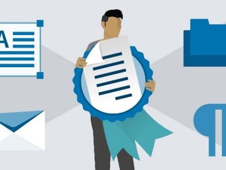 Vabilo na pripravljalni tečaj za pridobitev certifikata MOS Word Expert 2019