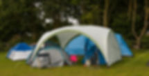 As well as tourers, there is also plenty of room for campers