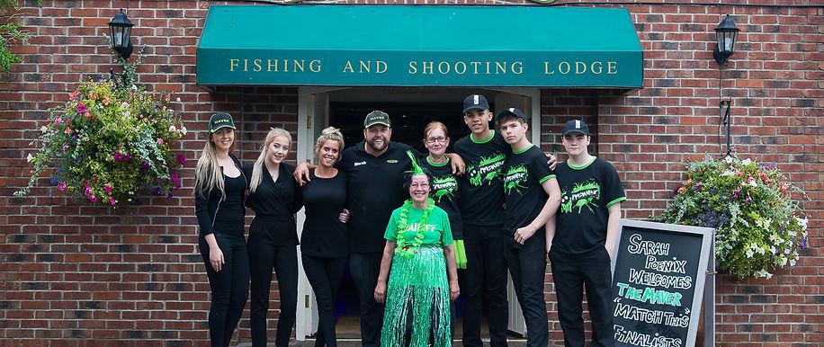 The Hayfield Fishing & Shooting Lodge team
