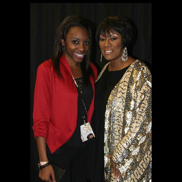 with the Legendary Ms. Patti Labelle