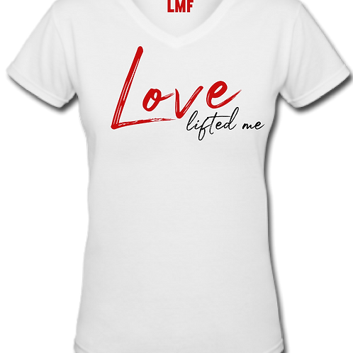 Love Lifted Me Unisex V-Neck