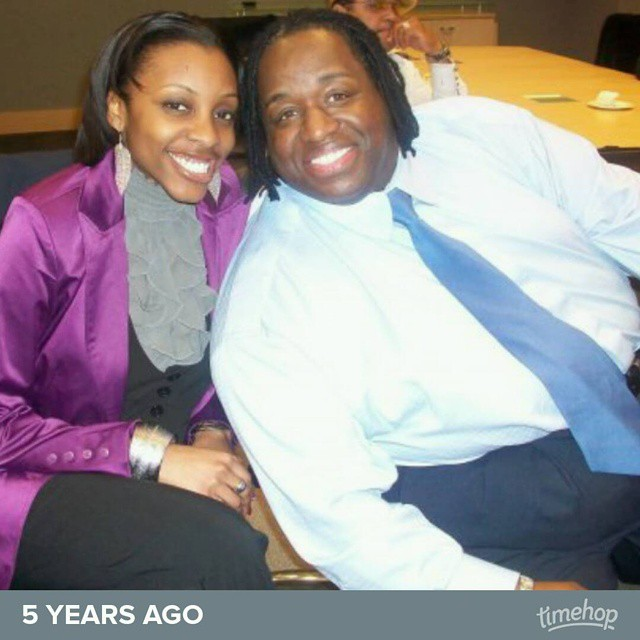 with the very funny Bruce Bruce