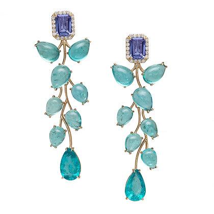 Orchid Drop Earrings