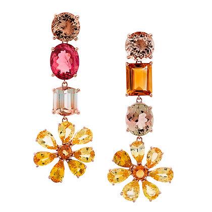 Flower Power Statement Earrings