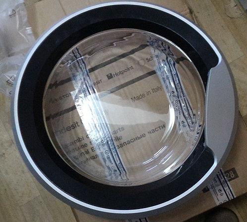 Дверца люка в сборе для стиральных машин Indesit (Индезит) L379570