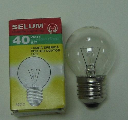 Лампа духовки E27 40W