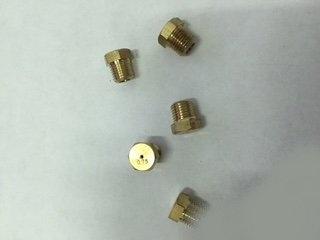 Набор жиклёров Indesit на балонный газ (Винт - Ключ 8; М7; Ø-0.40мм; Ø-0.55мм; Ø