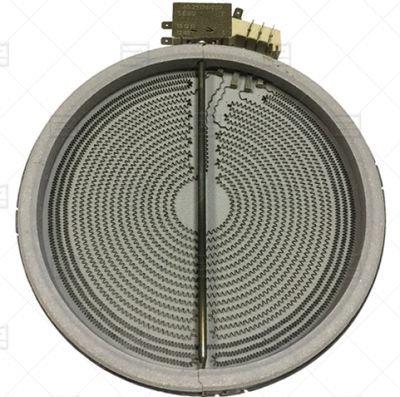277577 Электроконфорка ( D230mm 2300W/230V), для стеклокерамических плит