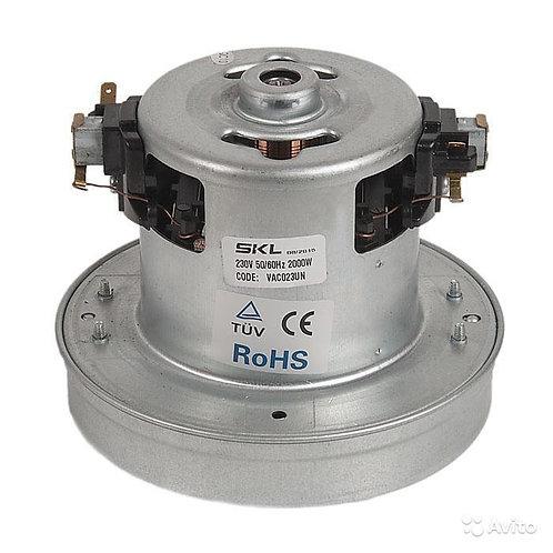 Электродвигатель на пылесос 2000w YDC-24 (VAC023UN) H120mm, Ø130mm, 230V, 50Hz.