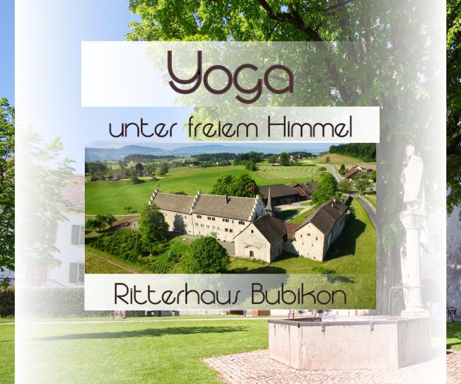 Outdoor Yoga im Ritterhaus Bubikon