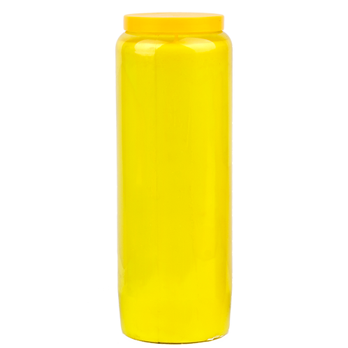 Bougie neuvaine jaune / Yellow candle novena