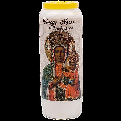 Bougie neuvaine de la Vierge de Czestochowa