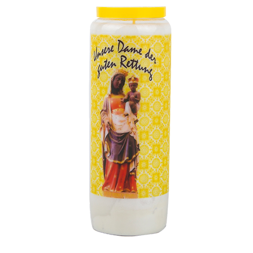 Novene Kerze van Unsere Dame der guten Rettung