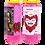 Thumbnail: Novena kaarsroze geparfumeerd met roos - Heilige Valentij