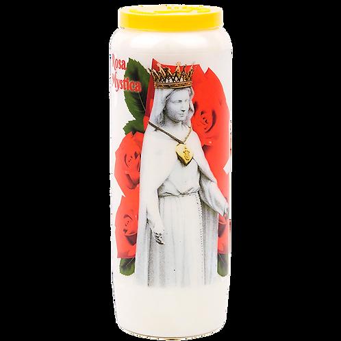 Novene Kerze von Rosa Mystica