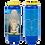 Bougie neuvaine bleue - Sainte Famille