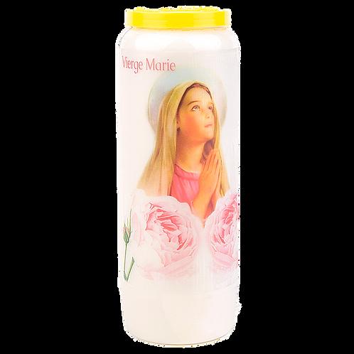 Bougie neuvaine de la Vierge Marie - 5