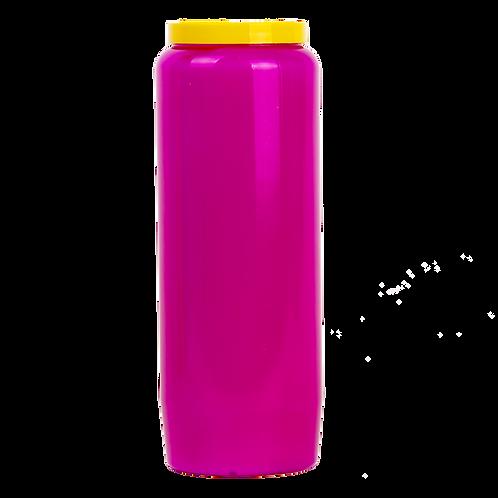 Bougie neuvaine mauve / Purple candle novena