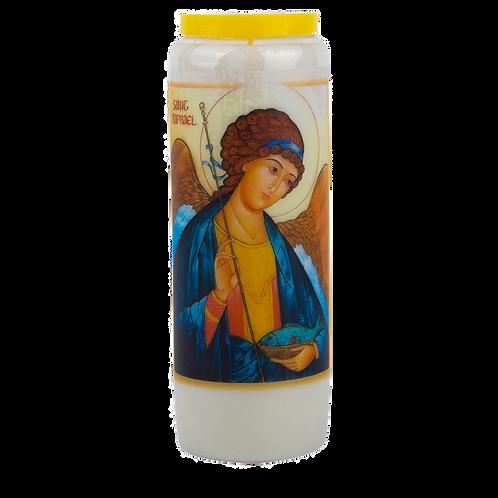 Novene Kerze van Heiliger Raphael