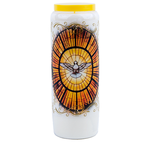 Novena candle to the Holy Spirit