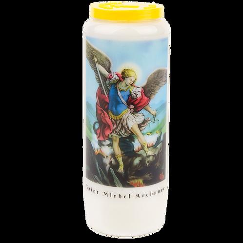 Bougie neuvaine de Saint Michel - Myrrhe